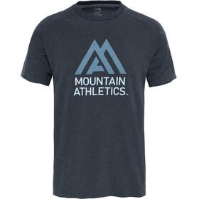 The North Face Wicker Graphic Crew Hardloopshirt korte mouwen Heren grijs